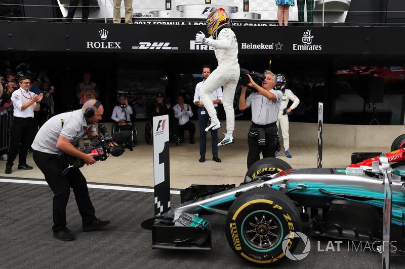 Ganador de la carreraLewis Hamilton, Mercedes AMG F1 W08