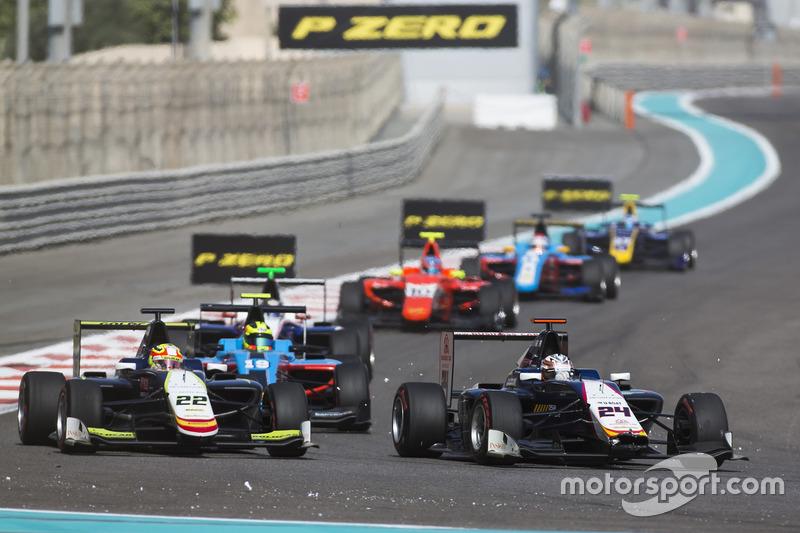 Alex Palou, Campos Racing & Konstantin Tereschenko, Campos Racing