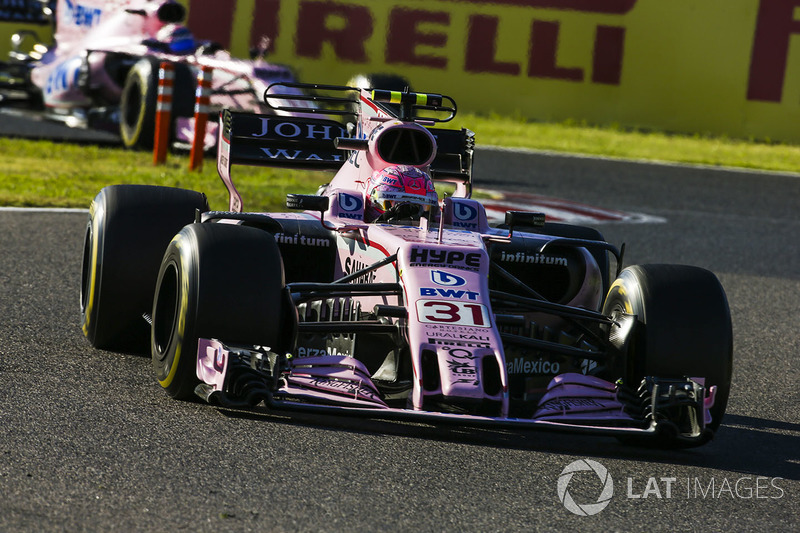 6. Эстебан Окон, Force India