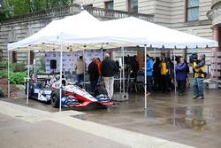 Auto von Graham Rahal, Rahal Letterman Lanigan Racing Honda