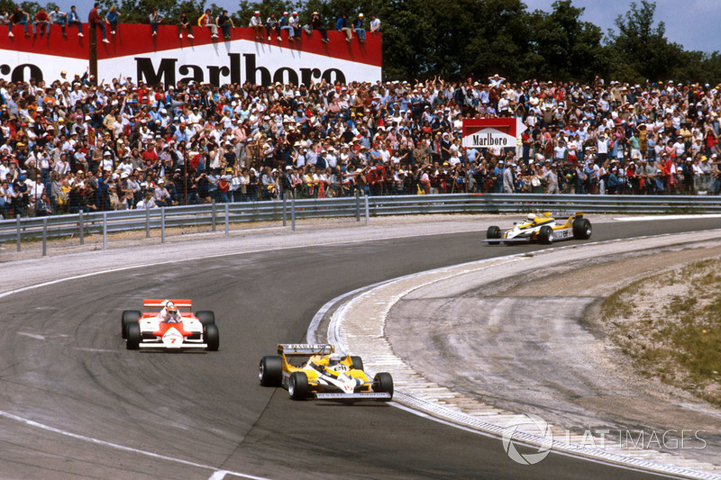 Los 58 Grandes Premios en Francia se han realizado en 7 pistas diferentes: Reims, Rouen-les-Essarts, Clermont-Ferrand, Dijon-Prenois, Le Mans, Le Castellet y Magny-Cours...