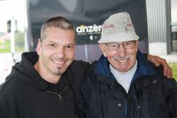 Eric Berguerand und papa Louis Berguerand
