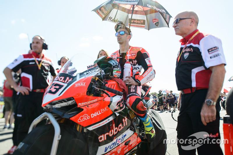 Startaufstellung: Marco Melandri, Ducati Team