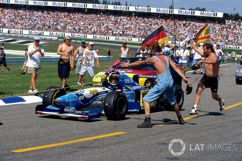 Benetton - 1995 (GP Jerman)