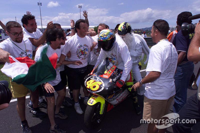 Rio 1999: Campeón del Mundo de 250cc y otro cambio de clase