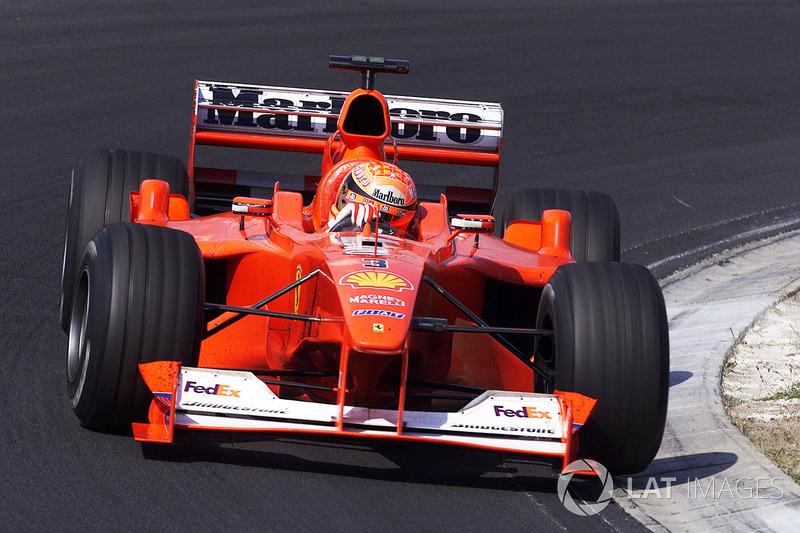 2000 Hungarian GP, Ferrari F1-2000