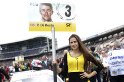 Grid girl of of Paul Di Resta, Mercedes-AMG Team HWA, Mercedes-AMG C63 DTM