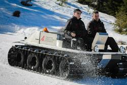 Test Venturi Antarctica sulla neve