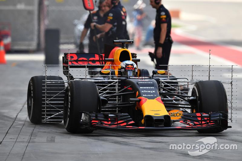Датчики на Red Bull RB13