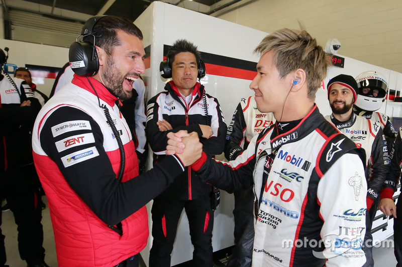 Jose Maria Lopez and Kamui Kobayashi, Toyota Gazoo Racing