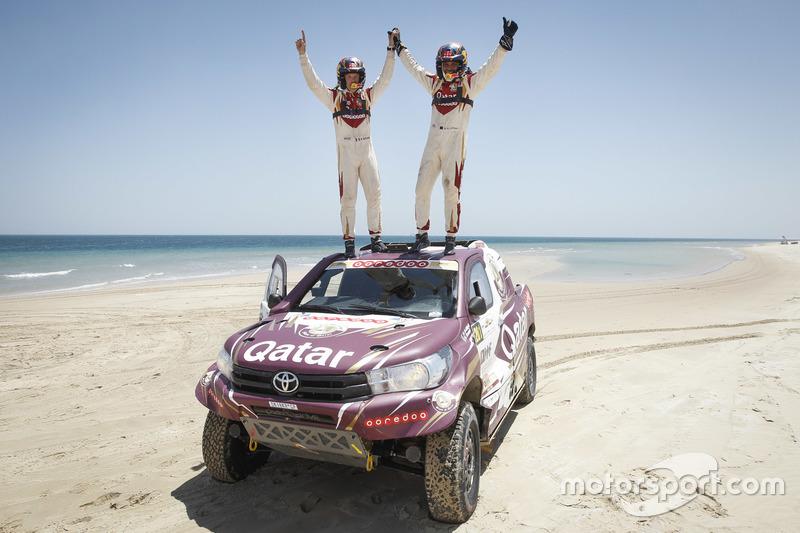 ناصر العطية وماثيو بومل، رالي قطر الصحراوي