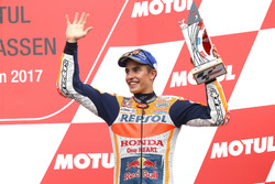 Podio: tercer lugar Marc Márquez, Repsol Honda Team