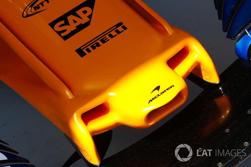 Le nez de la McLaren MCL33