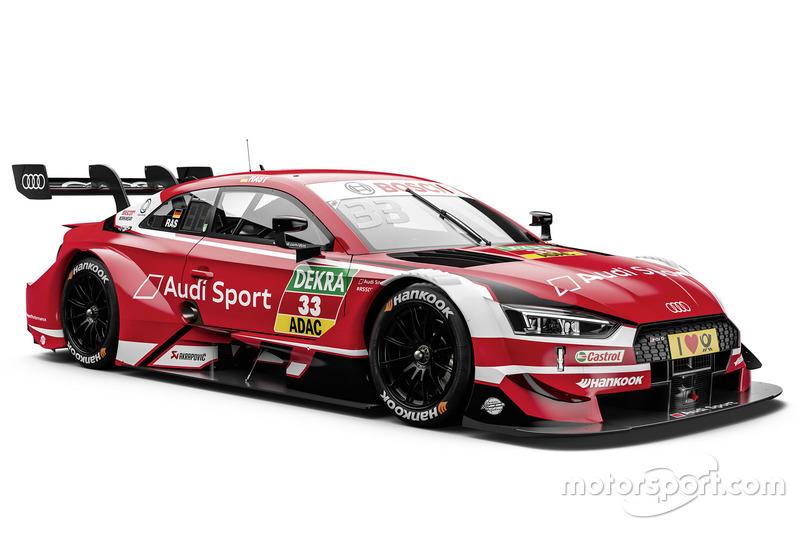 #33 René Rast, Audi Sport Team Rosberg Audi RS5 DTM