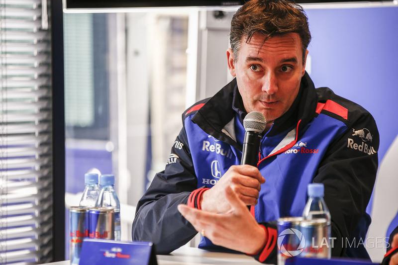 Джеймс Кі, технічний директор Scuderia Toro Rosso