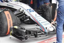 Williams FW41 splitter