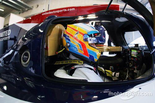 United Autosports 阿拉贡测试