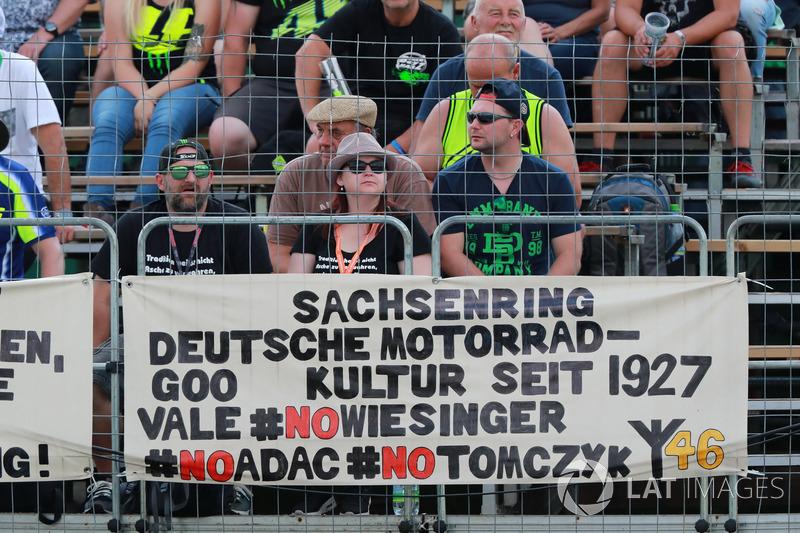 German fan banner