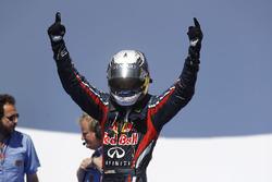 Pole de Sebastian Vettel, Red Bull Racing
