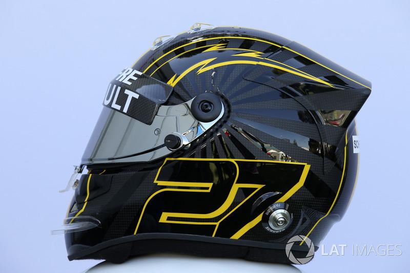 Nico Hulkenberg, Renault Sport F1 Team helmet