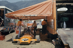 Jackie Oliver's McLaren M19A