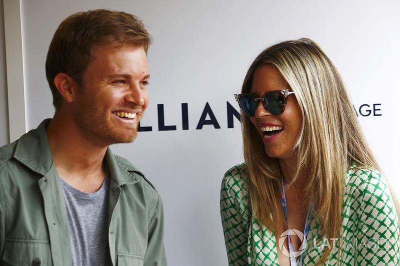 Nico Rosberg et sa femme Vivian Sibold