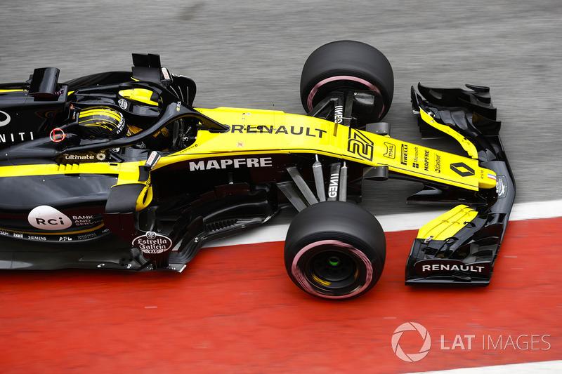 11º Nico Hulkenberg, Renault Sport F1 Team RS18: 1:18.675 (Hiperblandos)
