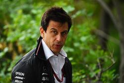Toto Wolff, directeur Mercedes AMG F1