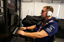 Paul Bendrey, Trackside IT Analyst, Sahara Force India