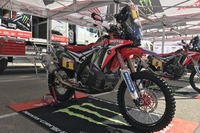 Honda CRF450 Rally de Joan Barreda
