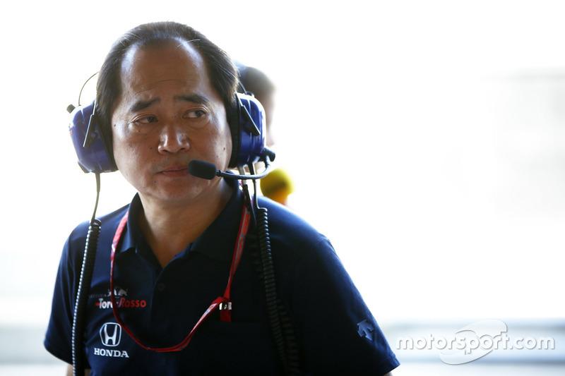 Технический директор Honda F1 Тойохару Танабе