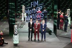 Joan Mir, Leopard Racing, Romano Fenati, Marinelli Rivacold Snipers, Aron Canet, Estrella Galicia 0,