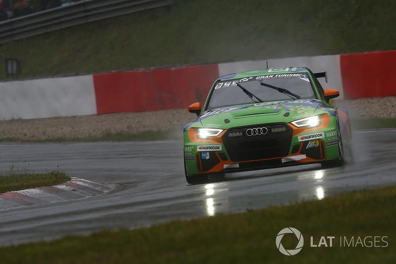 #172 Bonk Motorsport Audi RS3 LMS: Hermann Bock, Max Partl