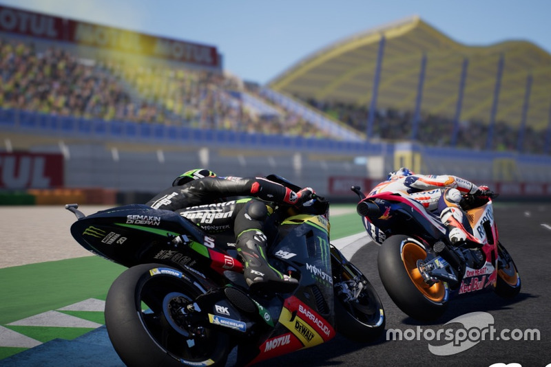Screenshot di MotoGP 18