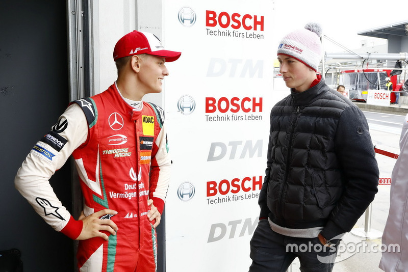 Mick Schumacher with David Schumacher