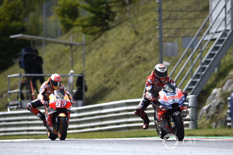 Новий епічний поєдинок з гонщиком Ducati в Австрії - цього разу проти Лоренсо