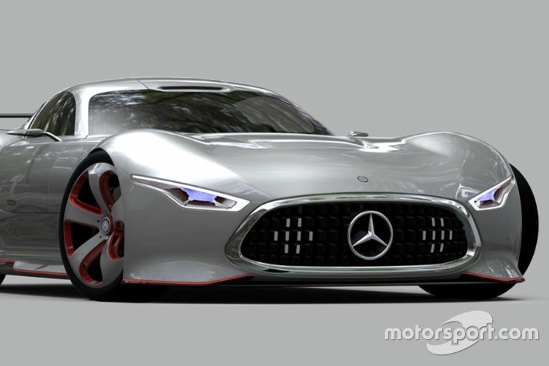 1. Mercedes-Benz AMG Vision Gran Turismo (november 2013)