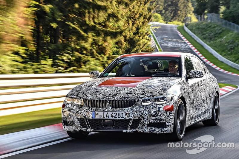Тізер седану BMW 3 Series 2019 року
