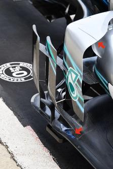 Mercedes-AMG F1 W09 barge board