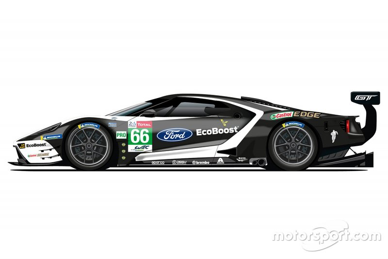 Ford GT livery #66