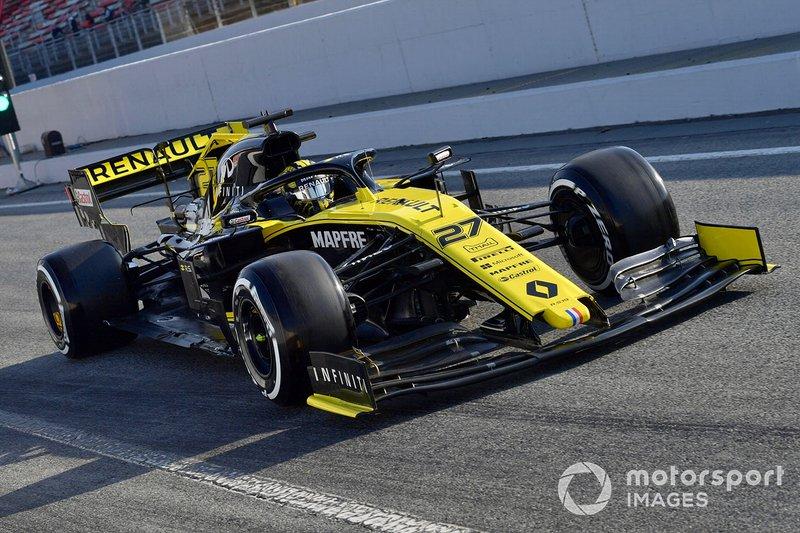 5. Нико Хюлькенберг, Renault RS19 – 1:16.843 (шины C5, 8-й день)