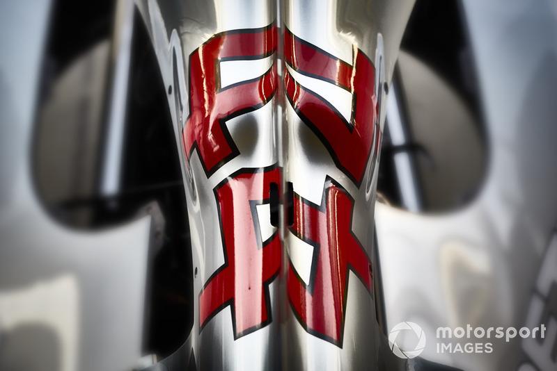 Detalle del Mercedes AMG F1 W09 EQ Power+ de Lewis Hamilton