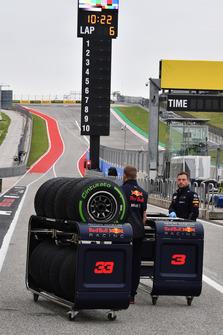 Red Bull Racing Pirelli tyres