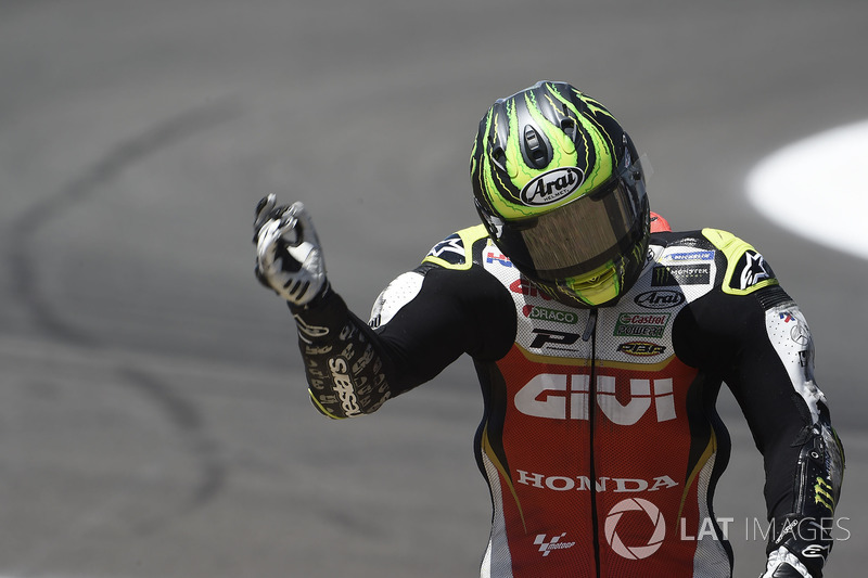 Cal Crutchlow, Team LCR Honda, 2nd crash