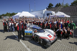 Timo Bernhard and the Porsche 919 Hybrid Evo
