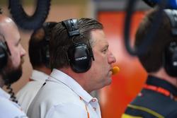 Zak Brown, PDG de McLaren Racing