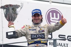Podium: race 2 winnaar Markus Winkelhock, Drago Multiracing