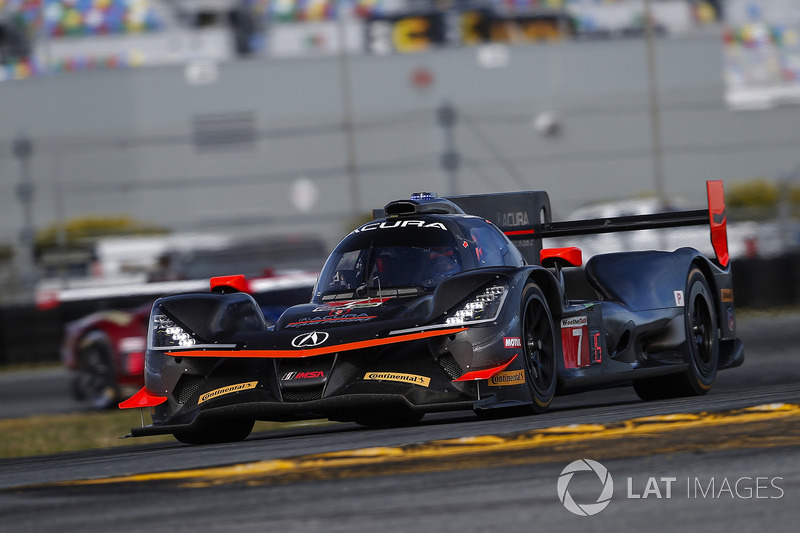 40º #7 Acura Team Penske Acura: Helio Castroneves (DPi)