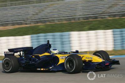 Testfahrten in Jerez, Januar