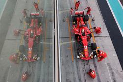 Пит-стоп: Себастьян Феттель, Ferrari SF70H